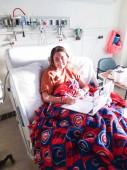 Emma blogs from her bed at the hospital. This is her Patient Perspective!